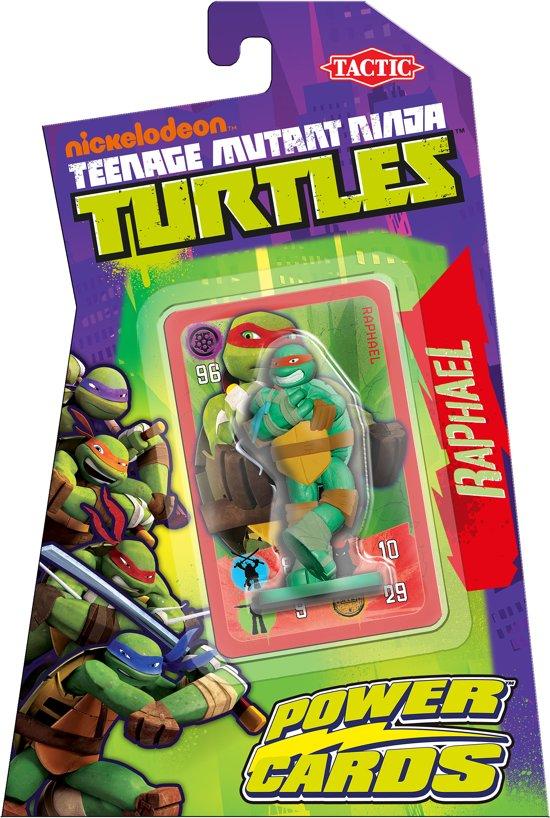 535e42fbd62 Teenage Mutant Ninja Turtles Power Cards Incl. Raphael Figure - Kaartspel
