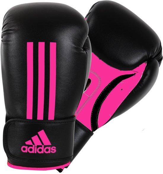 adidas Energy 100 (Kick)Bokshandschoenen Zwart/Roze 12 Oz