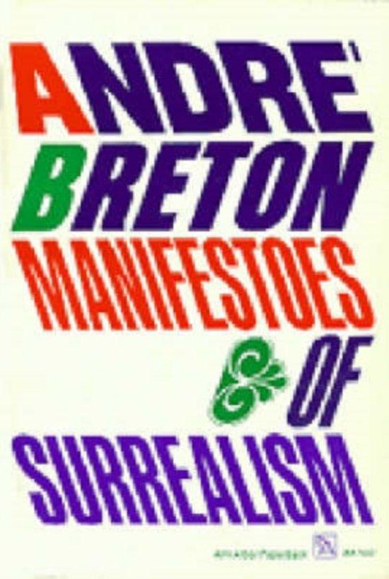 Manifestoes of Surrealism