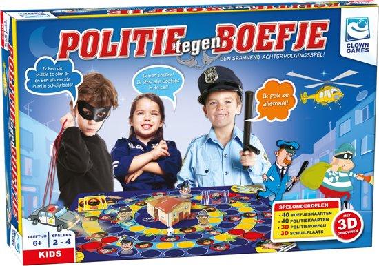CLOWN POLITIE TEGEN BOEFJE