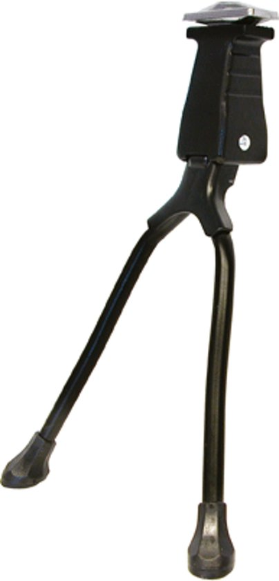 Dresco - Fietsstandaard - Midden - 26-28 inch - Zwart
