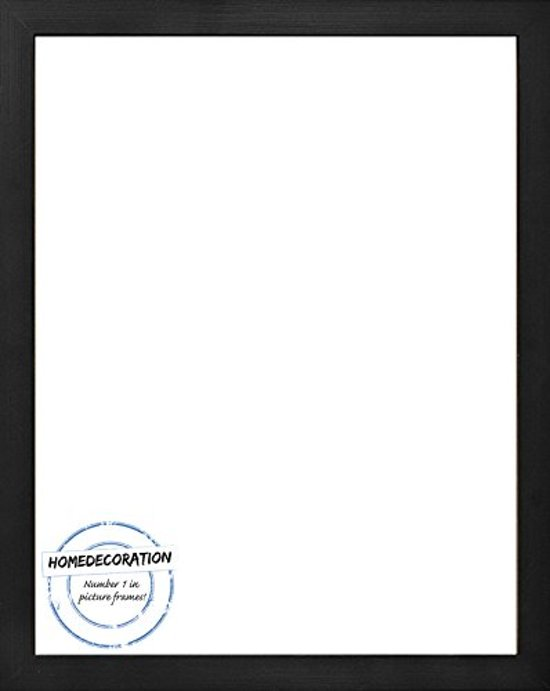 Homedecoration Misano – Fotolijst – Fotomaat – 54 x 69 cm  – Zwart houtnerf