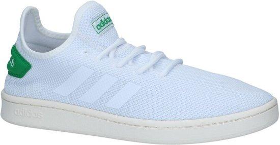 Witte adidas Court Adapt Sneakers Heren 39