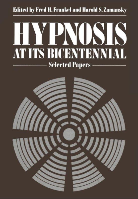 Hypnosis at its Bicentennial