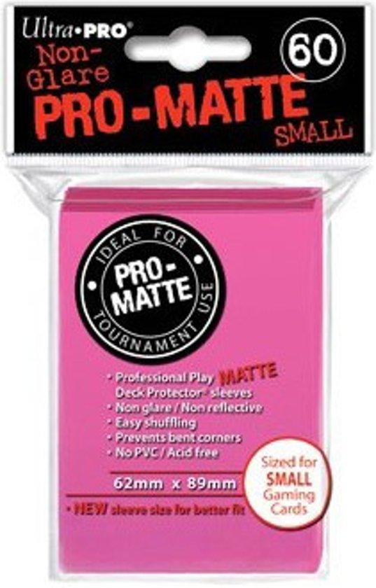 Afbeelding van het spel Sleeves Pro-Matte Bright Pink Small