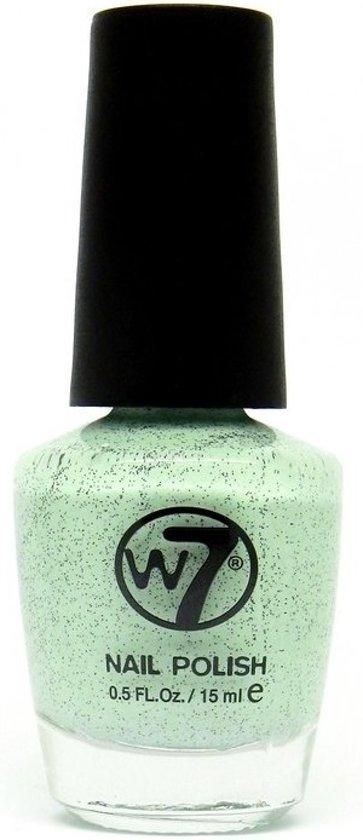 W7 Nagellak - nr. 91 Speckled Mint 15 ml