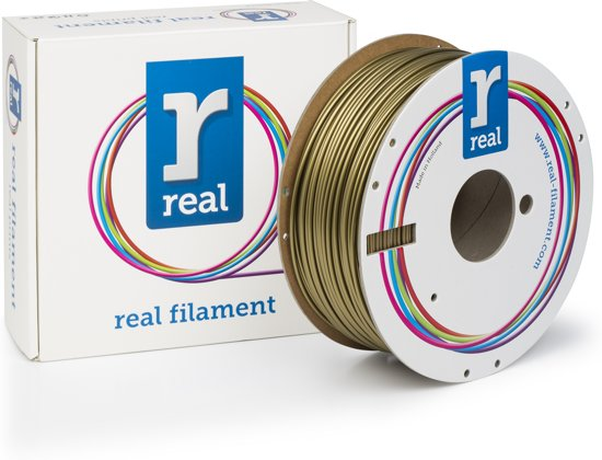 REAL Filament PLA goud 2.85mm (1kg)
