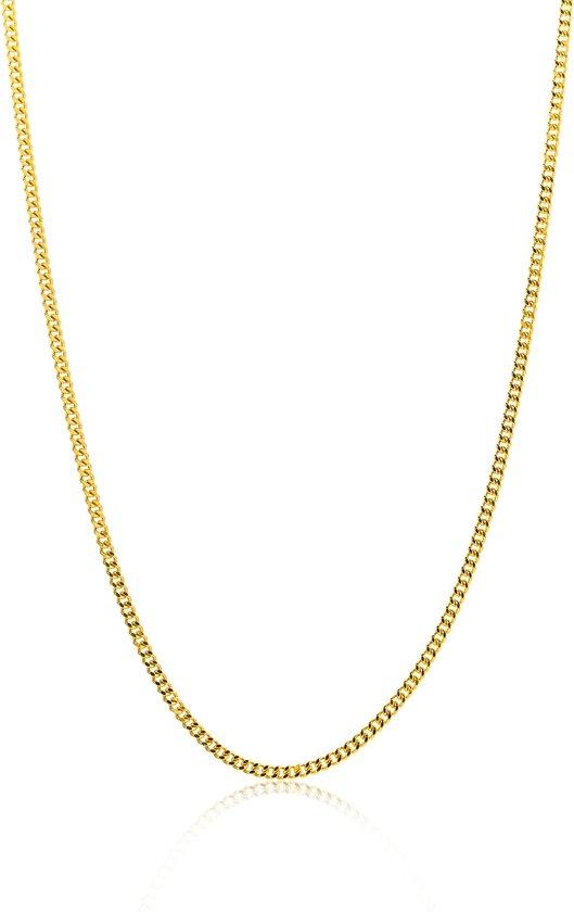 halsketting dames goud