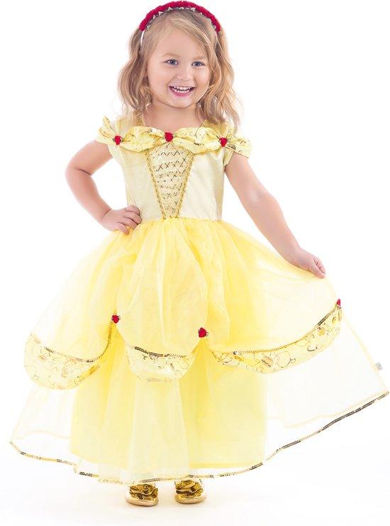 Belle jurk deluxe - Maat (M) 104/116 - 3/5 jaar