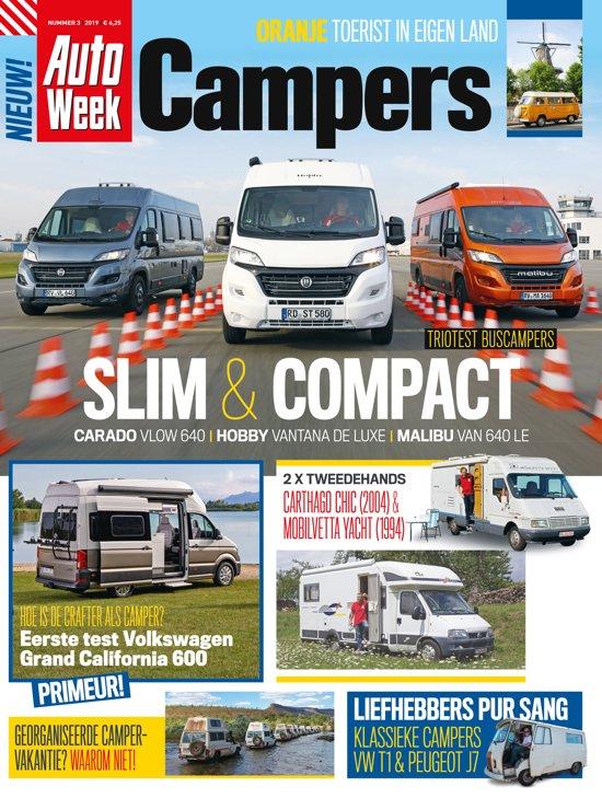 Boek cover AUTOWEEK CAMPERS             0004 van Sanoma Media NL. (Paperback)