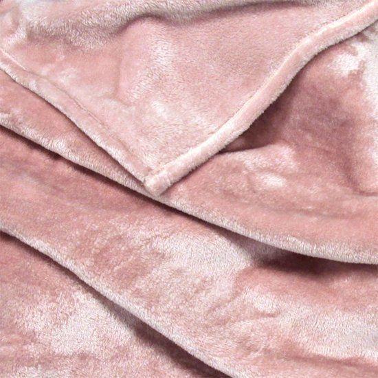 Plaid Blush Oud Roze 150 x 200 cm