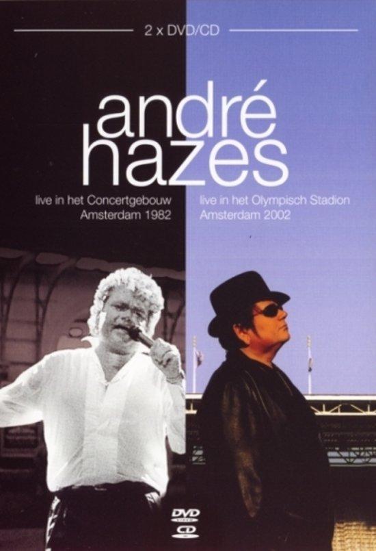 Andre Hazes - Live Box 1982 & 2002 (2cd + 2dvd)