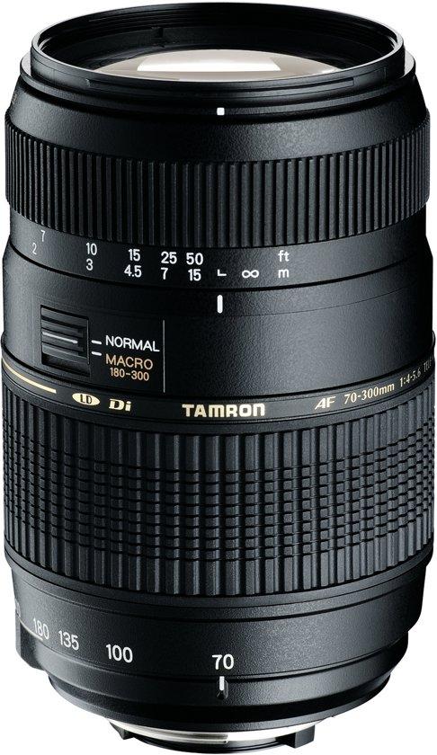 Tamron AF 70-300mm - F4-5.6 Di LD - telezoomlens met macro functie - Geschikt voor Canon