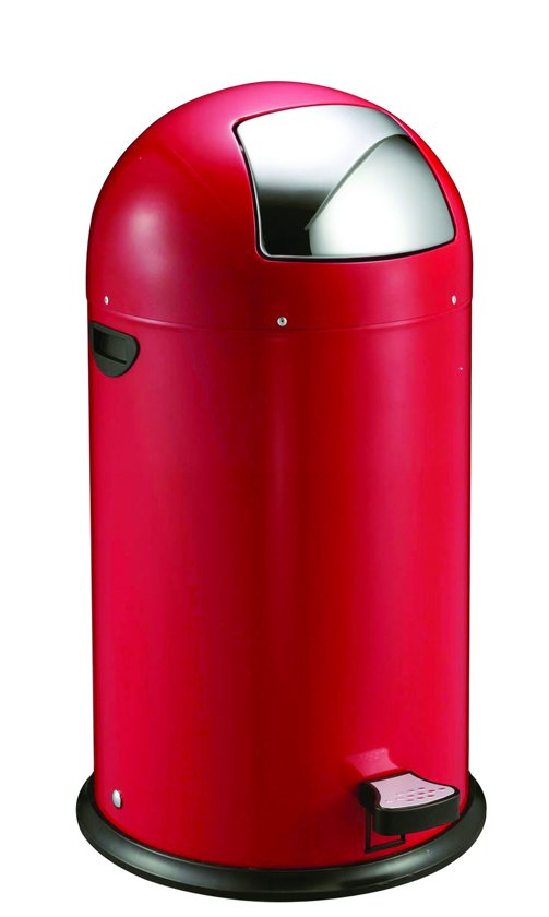 Eko Kickcan 33 Liter Rood.Eko Kickcan 40 Liter Rood