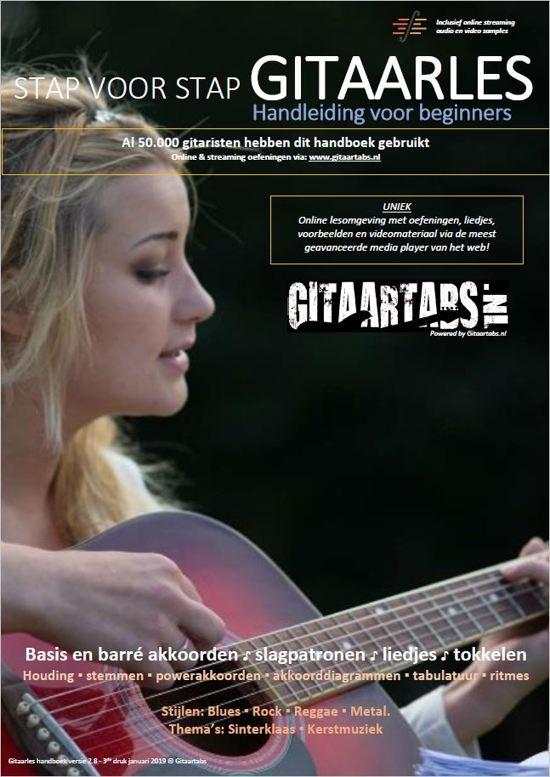 Stap voor Stap Gitaarles Handboek - Inclusief Online Videos & Streaming Samples