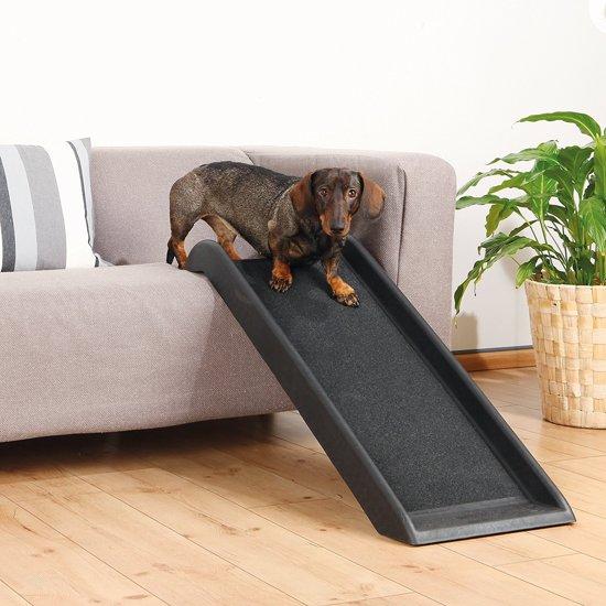 Topmast Loopplank Petwalk Hondenloopplank kunststof Kleine hond 100 * 38 cm