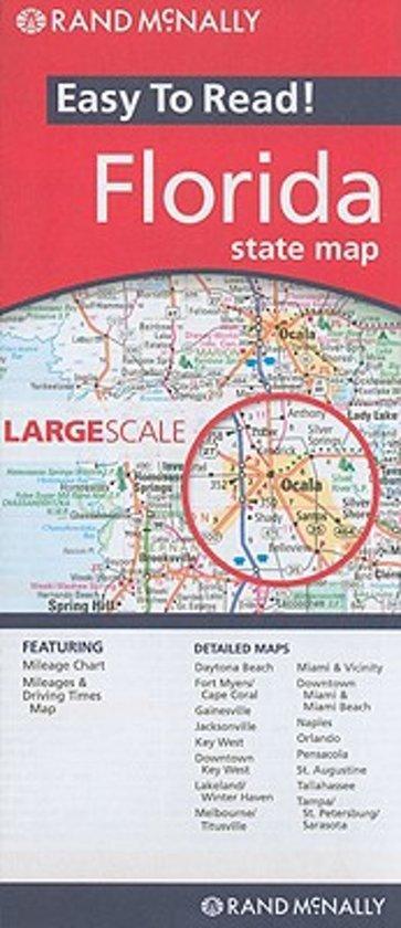 Rand Mcnally Map Of Florida.Bol Com Florida State Map Rand Mcnally And Company