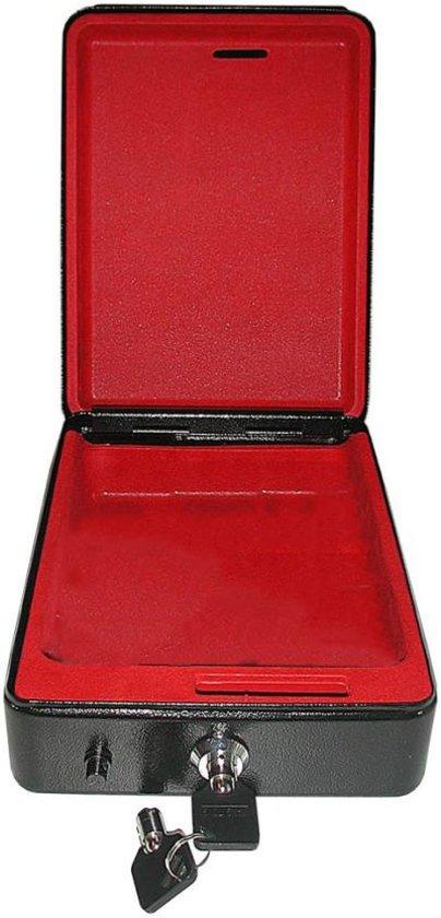ProPlus stalen kluis met houder 225x165x85mm