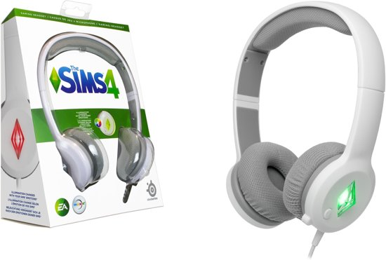 SteelSeries Wired Stereo Gaming Headset - Wit - De Sims 4 Edition (PC)