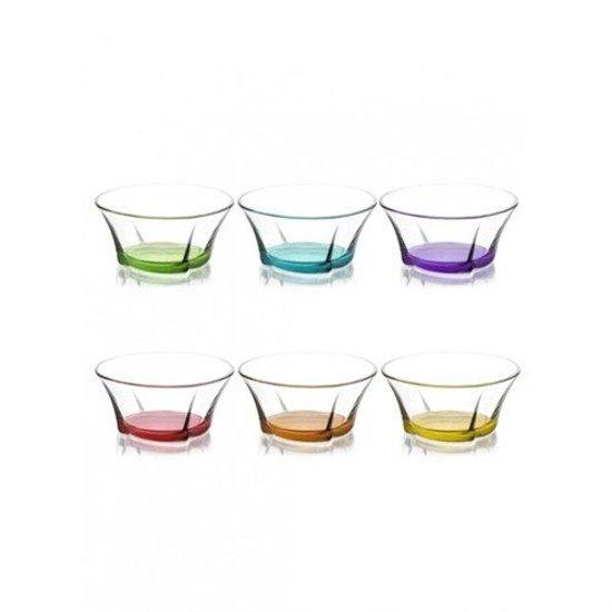 LAV gekleurde serveerschaal 310 ml 'Coral truva' (6 stuks)