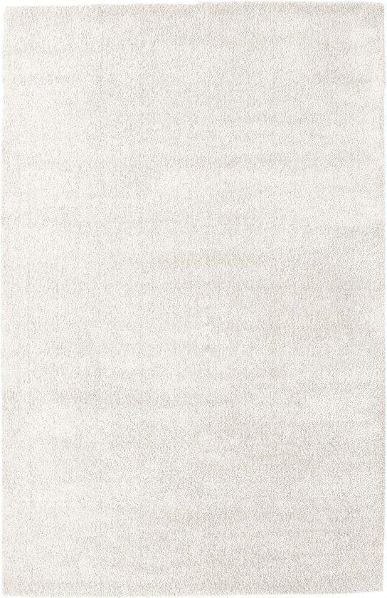 Basic Collection Hoogpolig Vloerkleed Silky 120x170 - Wit