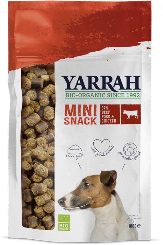 Yarrah Mini Bites Bio - Hondensnack - 100 g