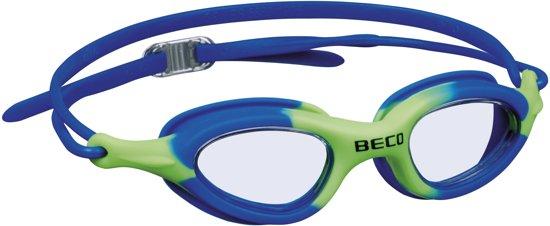 8f9465d6d9dc77 bol.com | BECO kinder zwembril Biarritz - blauw/groen