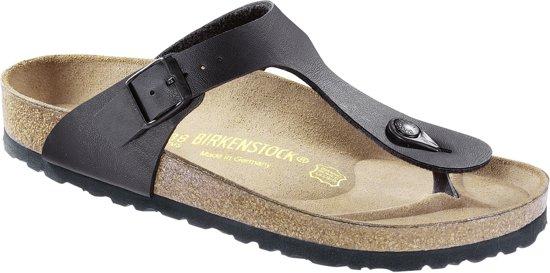 Birkenstock Gizeh - Slippers - Black - Maat 39