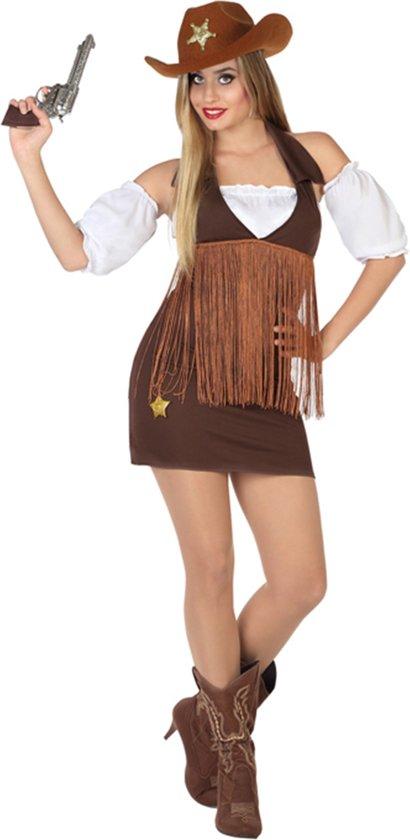 Cowgirl kostuum voor dames  - Verkleedkleding - M/L