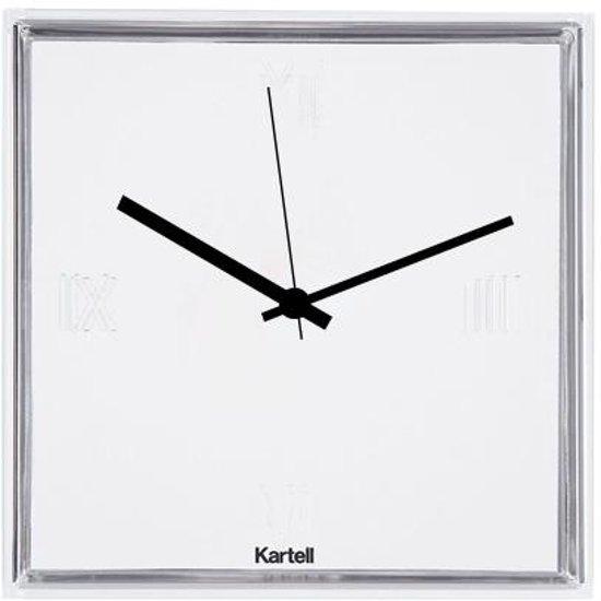 Kartell Tic & Tac Wandklok 30 x 30 cm