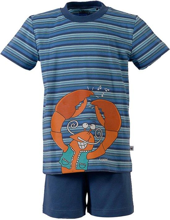 0d0ef2bbedf bol.com | Woody pyjama kreeft - blauw - 171-1-PSU-S/986 - maat 92