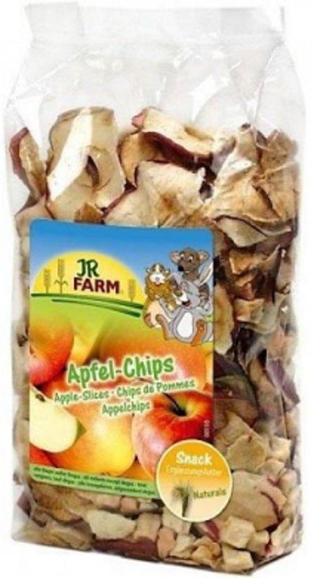 JR Farm - Appelchips - 80g - Verpakt per 3 - Knaagdierensnack