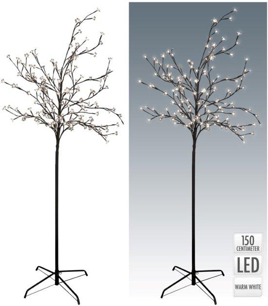 kerstboom bloesemboom wilgenboom 120 led wit 150 cm hoogte