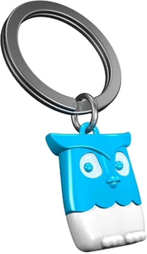 b79ccb26e606b4 bol.com   Metalmorphose Uil Sleutelhanger Cadeau Accessoire- Blauw ...