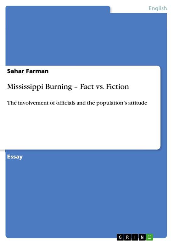 Mississippi Burning - Fact vs. Fiction