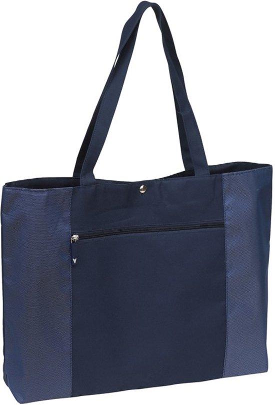 Strandtas Tropea- 15 liter- blauw
