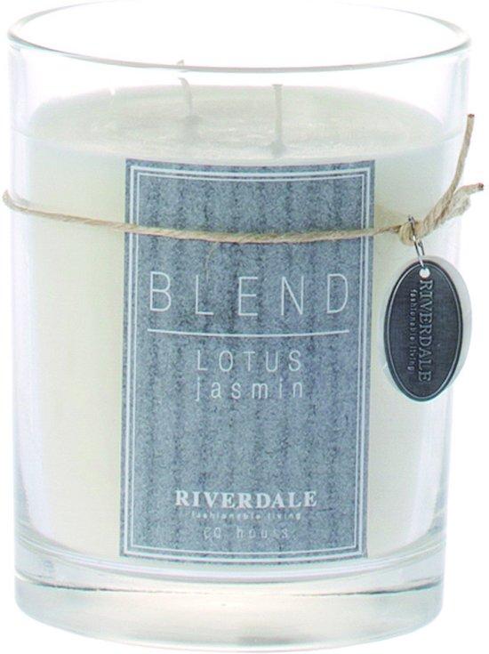 Riverdale Blend - Kaarsenpot -  Lotus Jasmin - 13 cm