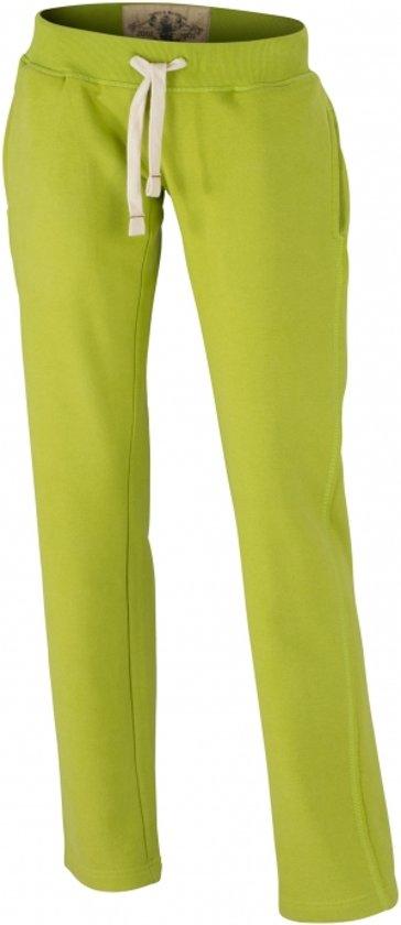 Joggingbroek Voor Dames.Bol Com Lime Dames Joggingbroek Vintage L