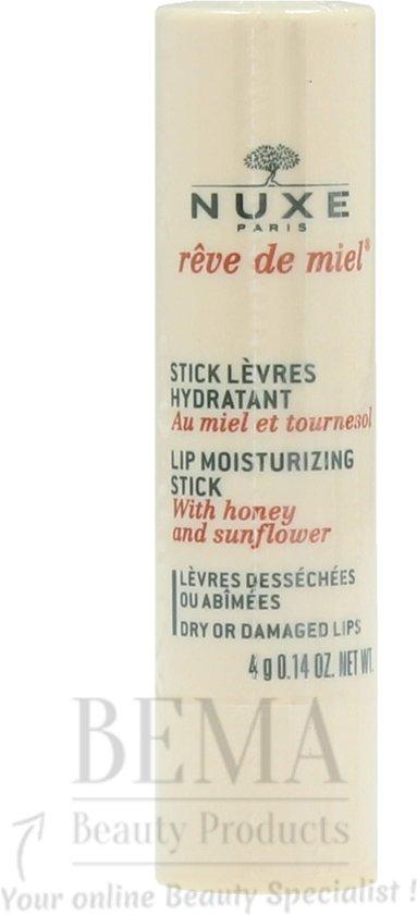 Nuxe reve de miel lip stick 4 gram