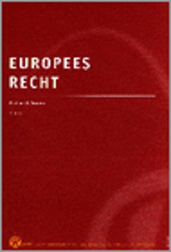 EUROPEES RECHT VOOR ECONOMISCHE EN BEDRIJFSKUNDIGE RICHTINGEN