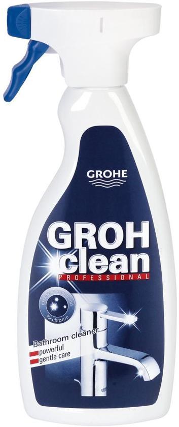 GROHE GROHclean Sproeiflacon - 500 ml - Reiniger - Schoonmaakmiddel voor badkamer en kranen