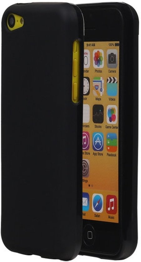 Apple iPhone 5C TPU Hoesje Zwart