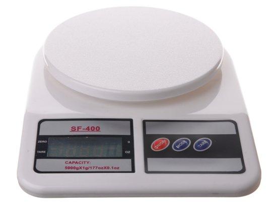 Keukenweegschaal, Weegschaal, Digitaal, 5 kg SF-400