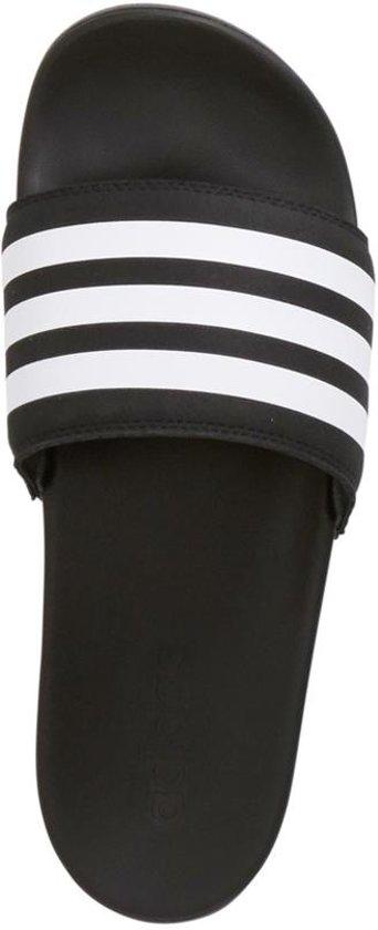adidas Adilette Cloudfoam + slippers zwart/wit