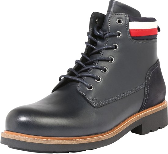 Tommy Hilfiger veterboots patrick 1a2 Donkerblauw 45