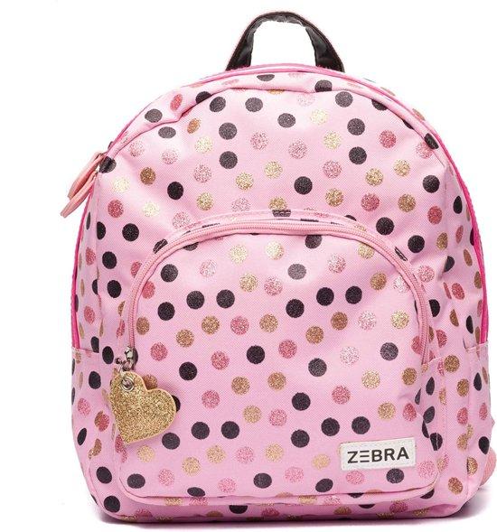 3fedd7ec54d bol.com | Zebra Trends Kinder Rugzak Wild Dots Glitter Pink