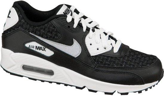 Nike Air Max 90 Gs 724882-101, Vrouwen, Zwart, Sneakers maat: 37.5 EU