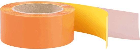 Vloermarkeringstape van PVC 50 mm Wit