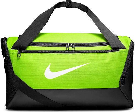 Nike  Brsla S Duff  9.0 Unisex Sporttas - Volt/Black/(White)