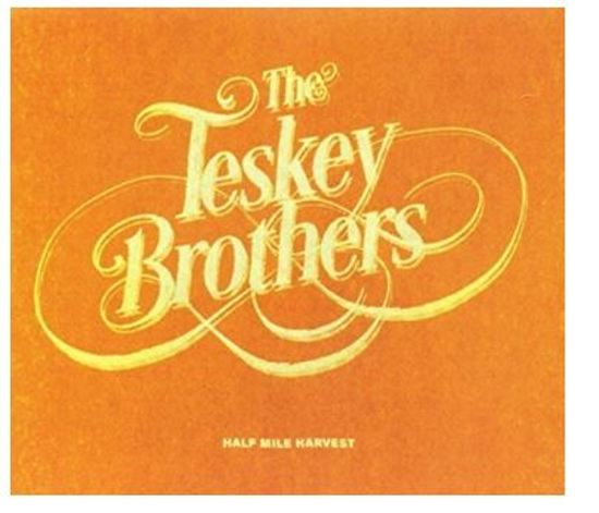 CD cover van Half Mile Harvest van The Teskey Brothers